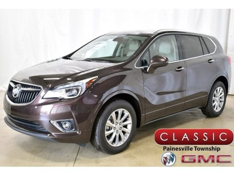 Espresso Metallic Buick Envision Essence.  Click to enlarge.