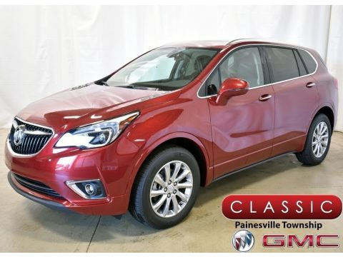 Chili Red Metallic Buick Envision Essence.  Click to enlarge.