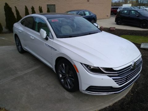 Pure White Volkswagen Arteon SEL 4Motion.  Click to enlarge.