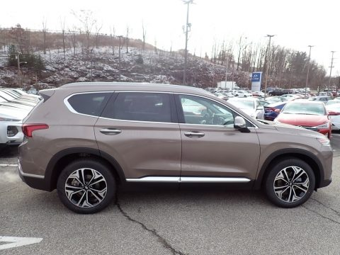 Earthy Bronze Hyundai Santa Fe SEL 2.0 AWD.  Click to enlarge.