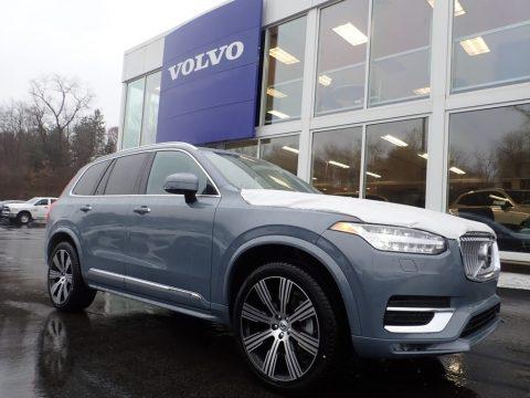 Thunder Gray Metallic Volvo XC90 T6 AWD Inscription.  Click to enlarge.
