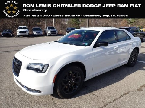Bright White Chrysler 300 Touring AWD.  Click to enlarge.
