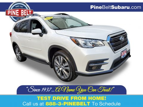 Crystal White Pearl Subaru Ascent Premium.  Click to enlarge.
