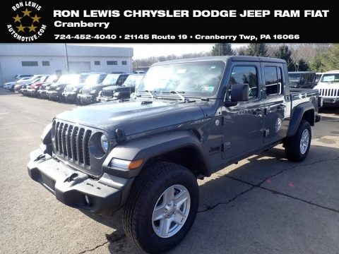 Sting-Gray Jeep Gladiator Sport 4x4.  Click to enlarge.