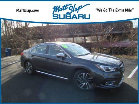 Magnetite Gray Metallic Subaru Legacy 2.5i Sport.  Click to enlarge.