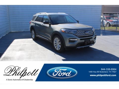 Silver Spruce Metallic Ford Explorer Limited.  Click to enlarge.