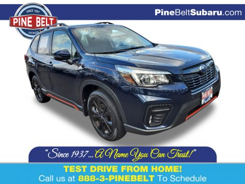 Dark Blue Pearl Subaru Forester 2.5i Sport.  Click to enlarge.