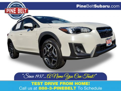 Crystal White Pearl Subaru Crosstrek 2.0 Limited.  Click to enlarge.