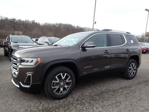 Smokey Quartz Metallic GMC Acadia SLE AWD.  Click to enlarge.