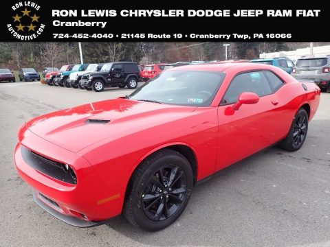 TorRed Dodge Challenger SXT AWD.  Click to enlarge.