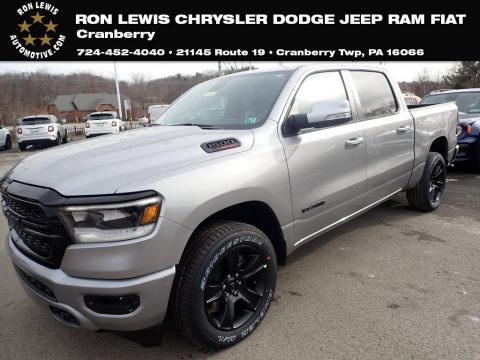 Billet Silver Metallic Ram 1500 Big Horn Crew Cab 4x4.  Click to enlarge.