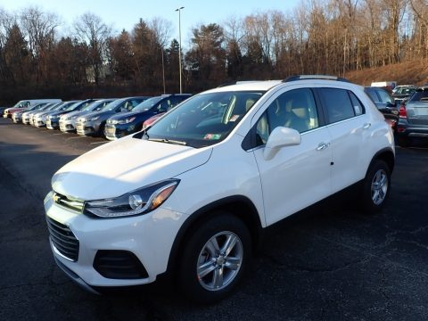 Summit White Chevrolet Trax LT AWD.  Click to enlarge.