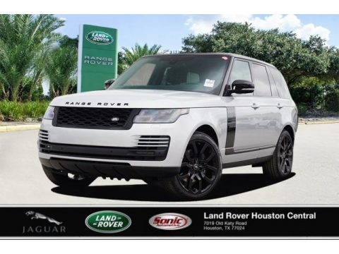 Indus Silver Metallic Land Rover Range Rover HSE.  Click to enlarge.