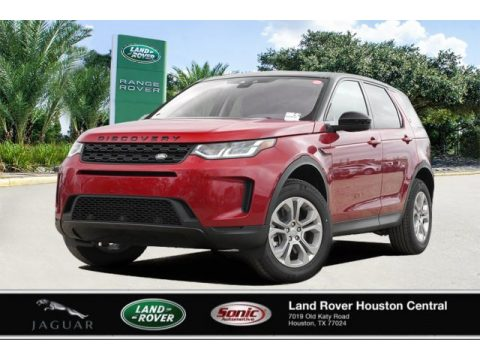 Firenze Red Metallic Land Rover Discovery Sport S.  Click to enlarge.