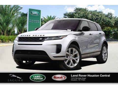 Indus Silver Metallic Land Rover Range Rover Evoque SE.  Click to enlarge.