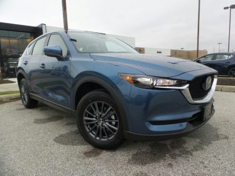 Eternal Blue Mica Mazda CX-5 Sport AWD.  Click to enlarge.