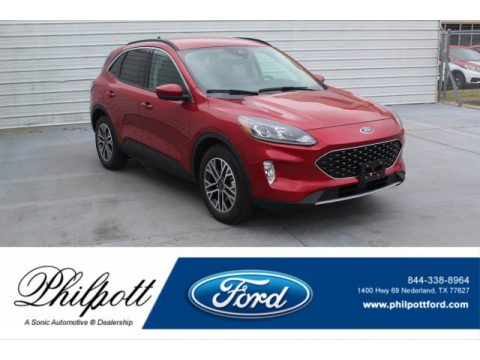 Rapid Red Metallic Ford Escape SEL.  Click to enlarge.