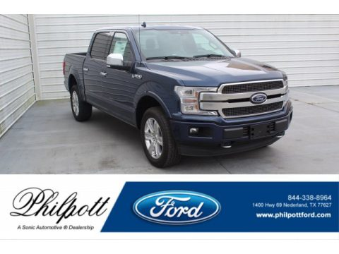Blue Jeans Ford F150 Limited SuperCrew 4x4.  Click to enlarge.