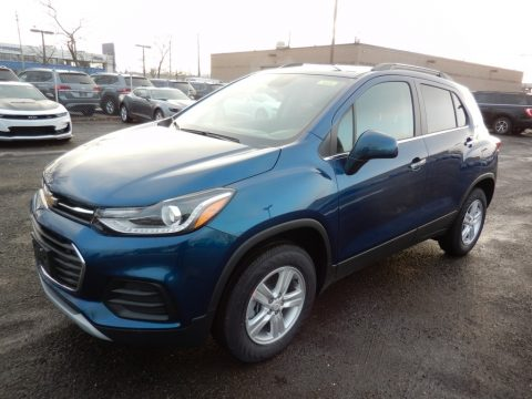Pacific Blue Metallic Chevrolet Trax LT AWD.  Click to enlarge.