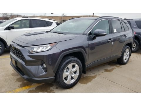 Magnetic Gray Metallic Toyota RAV4 XLE AWD.  Click to enlarge.