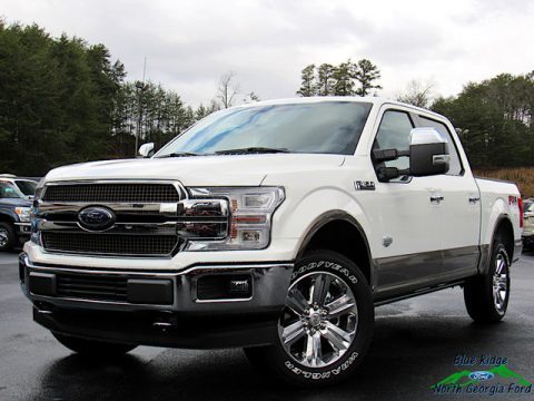 Star White Ford F150 King Ranch SuperCrew 4x4.  Click to enlarge.