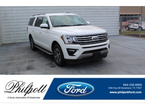 Star White Ford Expedition XLT Max.  Click to enlarge.