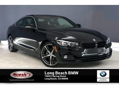 Jet Black BMW 4 Series 430i Coupe.  Click to enlarge.