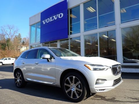 Bright Silver Metallic Volvo XC60 T5 AWD Inscription.  Click to enlarge.