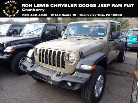 Gator Jeep Gladiator Sport 4x4.  Click to enlarge.