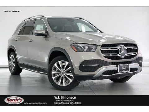 Mojave Silver Metallic Mercedes-Benz GLE 350 4Matic.  Click to enlarge.