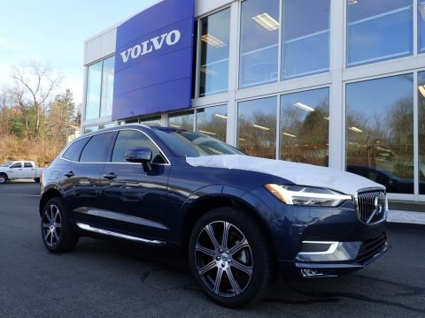 Denim Blue Metallic Volvo XC60 T5 AWD Inscription.  Click to enlarge.