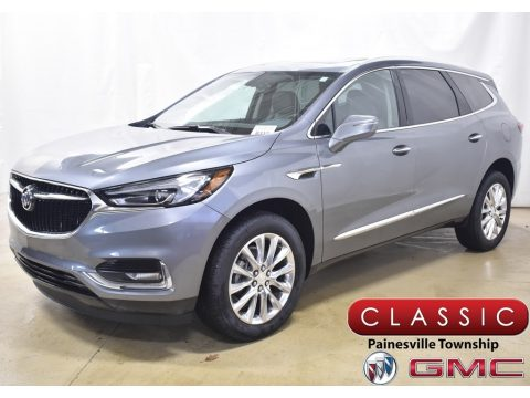 Satin Steel Metallic Buick Enclave Essence AWD.  Click to enlarge.
