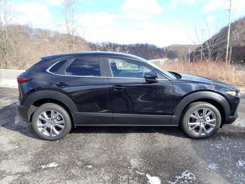 Jet Black Mica Mazda CX-30 Select AWD.  Click to enlarge.