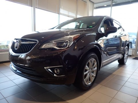 Espresso Metallic Buick Envision Preferred AWD.  Click to enlarge.
