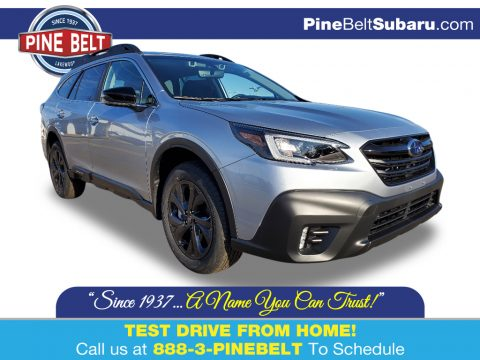 Ice Silver Metallic Subaru Outback Onyx Edition XT.  Click to enlarge.