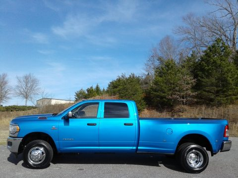 Hydro Blue Pearl Ram 3500 Tradesman Crew Cab 4x4.  Click to enlarge.