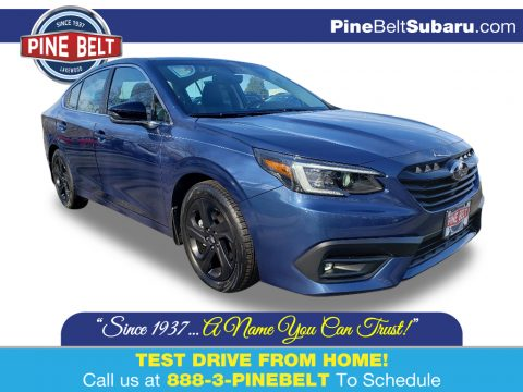 Abyss Blue Pearl Subaru Legacy 2.5i Sport.  Click to enlarge.