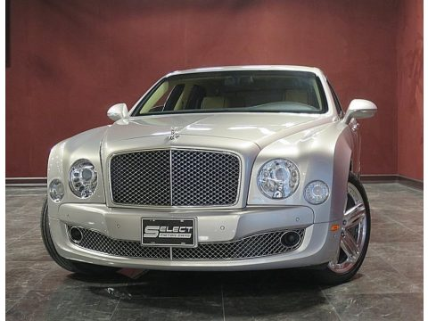 Silver Storm Bentley Mulsanne .  Click to enlarge.