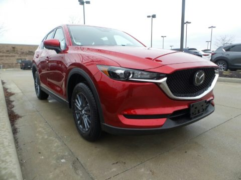 Soul Red Crystal Metallic Mazda CX-5 Sport AWD.  Click to enlarge.