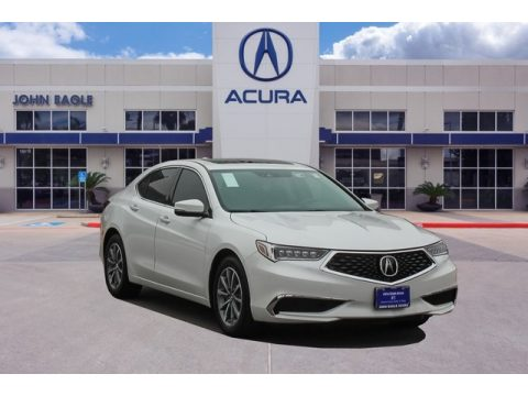 Platinum White Pearl Acura TLX Technology Sedan.  Click to enlarge.