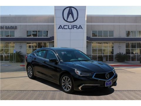 Majestic Black Pearl Acura TLX Technology Sedan.  Click to enlarge.