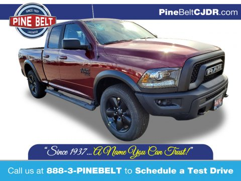 Delmonico Red Pearl Ram 1500 Classic Warlock Quad Cab 4x4.  Click to enlarge.