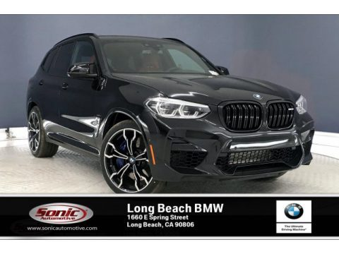 Black Sapphire Metallic BMW X3 M Competition.  Click to enlarge.