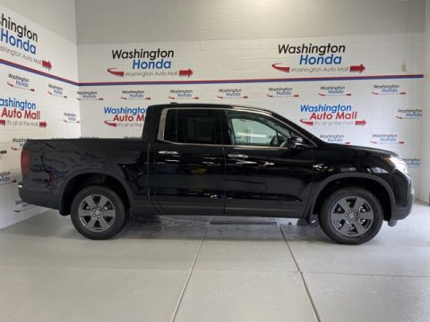 Crystal Black Pearl Honda Ridgeline RTL-E AWD.  Click to enlarge.