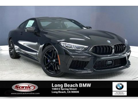 Black Sapphire Metallic BMW M8 Coupe.  Click to enlarge.