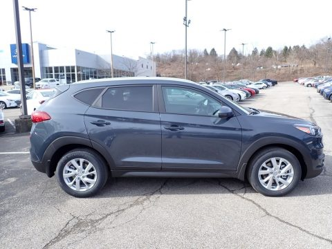 Dusk Blue Hyundai Tucson Value AWD.  Click to enlarge.