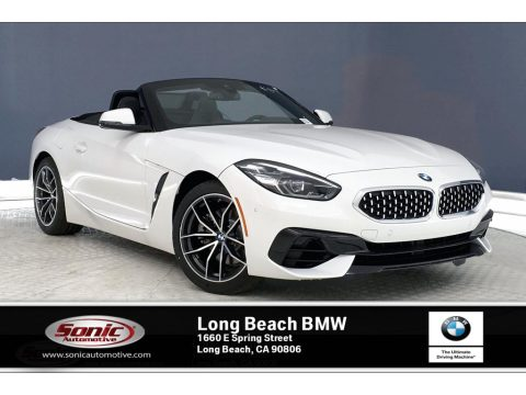 Alpine White BMW Z4 sDrive30i.  Click to enlarge.