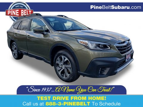Autumn Green Metallic Subaru Outback 2.5i Limited.  Click to enlarge.