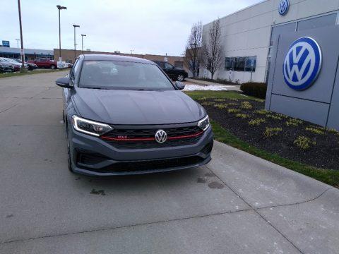 Pure Gray Volkswagen Jetta GLI Autobahn.  Click to enlarge.