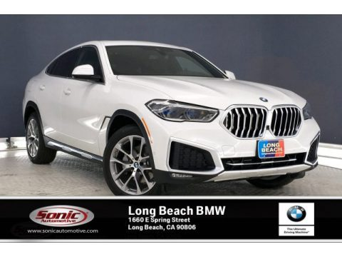 Alpine White BMW X6 xDrive40i.  Click to enlarge.